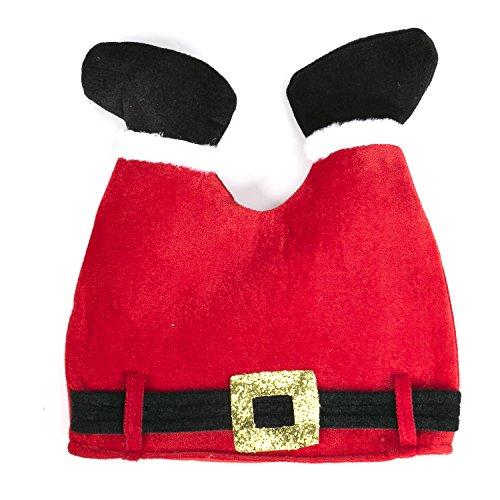 DomeXmas Funny Christmas Hat, Pants Hat
