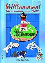 Willkommen! Türschilder aus FIMO