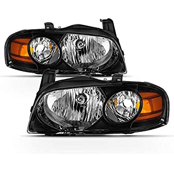 For 04-06 Nissan Sentra DNA Motoring HL-OH-079-SM-AM Pair of Headlight