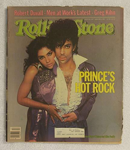 Prince & Vanity - Prince's Hot Rock - Rolling Stone Magazine - #394 - April 28, 1983 - Robert Duvall, Greg Kihn articles