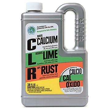 Amazon.com: CLR Calcium Lime Rust Remover, Enhanced Formula, 28 fl ...
