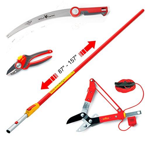 WOLF Garten Tree Master Tool Kit 3733783 - 4 piece tool kit (Garten Wolf Anvil)