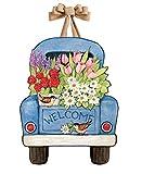 Studio M DD1668 Indoor/Outdoor Door Décor, Flower Pickin' Time