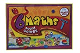 6 Maths Board Games by 6 Maths Board Games Pack 1