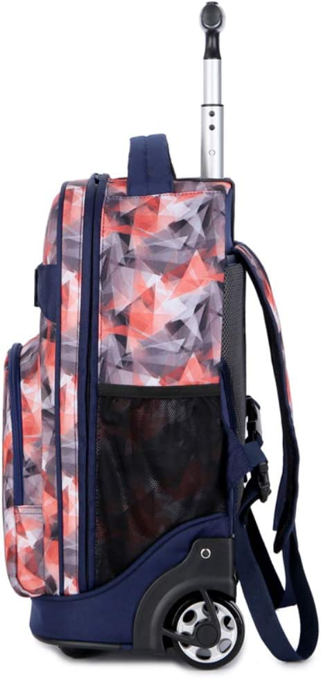 Great for High School Wheeled Laptop Backpack College Backpack Business Backpack,A Rolling School Bag