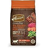 Merrick Grain Free Real Texas Beef + Sweet Potato Recipe Dry Dog Food, 4-Pound