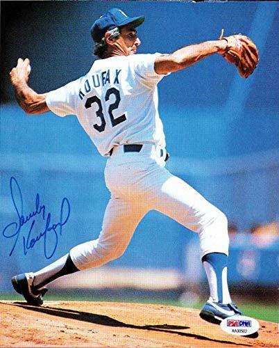 c7a1d4f13 Sandy Koufax Autographed 7x9 Magazine Page Photo Los Angeles Dodgers   AA00502 - PSA DNA