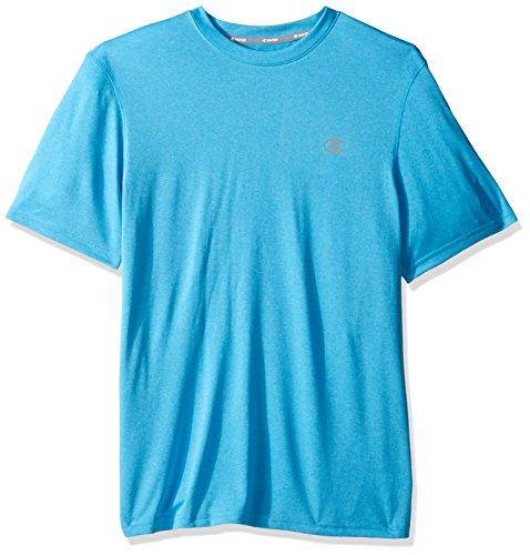 Champion Men's Double Dry T-Shirt, Hydro Heather, ()