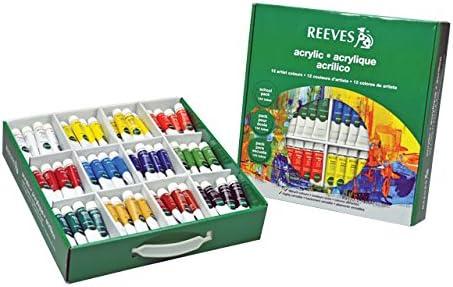 Reeves Acrylfarben, 10ml, 144 Stück