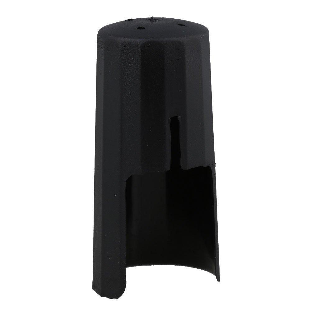 yibuy negro plástico para saxofón alto boquilla ligadura Cap Sax etfshop YB6216