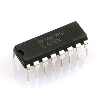 Circuito Integrado TL494CN Controlador PWM Pack De 5 Unidades DIP 16