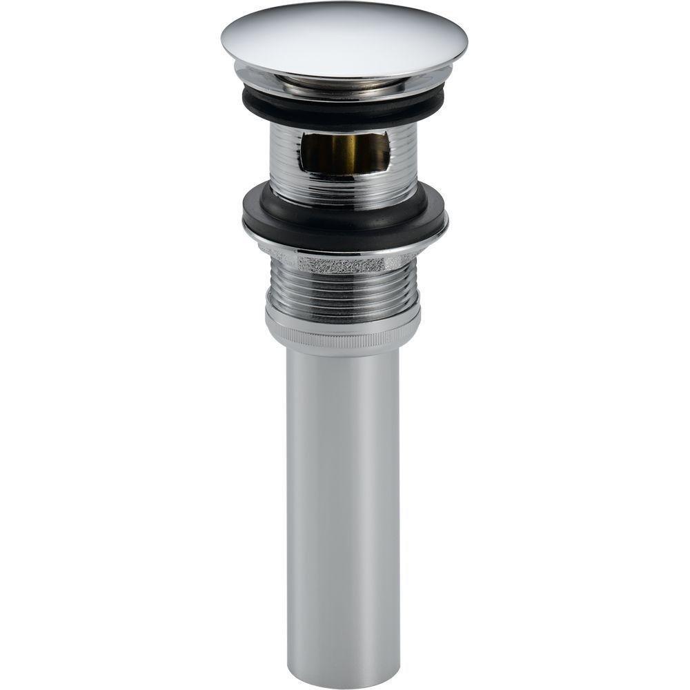 Amazon.com: Delta Faucet 72173 Push Pop-Up with Overflow, Chrome ...