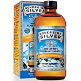Sovereign Silver Bio-Active Silver Hydrosol for Immune Support – 10 ppm, 32oz (946mL) – Family Size (FFP)