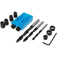 14 Pcs/Set Pocket Agujero Kit Adaptador Para Carpintería