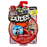 Tech Deck Dudes – 2-Pack Collectible Skater Figures with Boards (Styles and Colors May Vary)