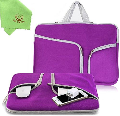 "UESWILL Neoprene Soft Sleeve Bag Briefcase for 13"" MacBoo..."