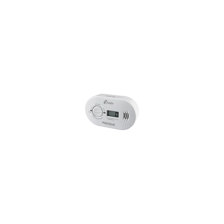 Kidde KN-COPP-B-LS Night Hawk Carbon Monoxide Alarm, Battery Operated with Digital Display - Carbon Monoxide Detectors - Amazon.com