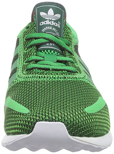 new arrivals 22ad3 c74de white Adidas Verde Blanco Zapatillas Los green Angeles Hombre CqT7AxRw