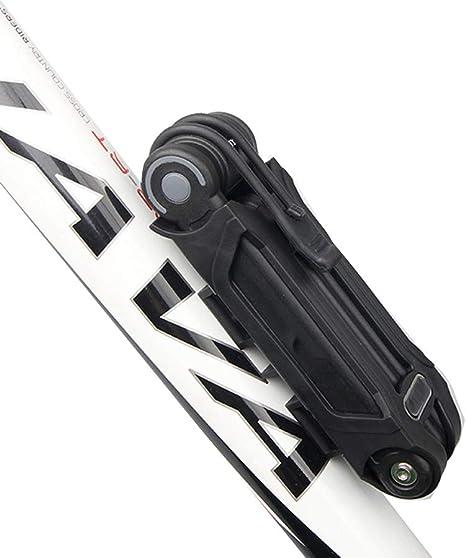 KuaiKeSport Candado de Bicicleta Plegable de Alta Seguridad ...