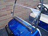 CLEAR Windshield for Club Car DS Golf Cart for years 2000+ by Franklin For Sale