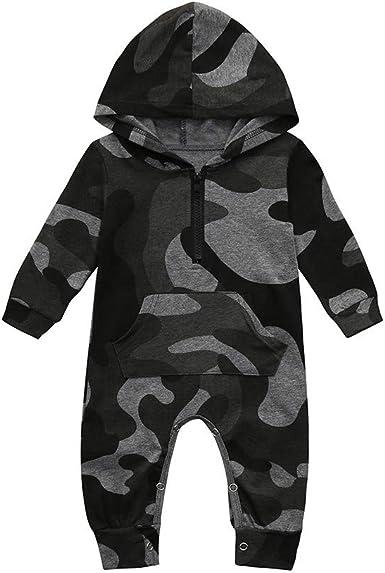 Toddler Infant Newborn Baby Jumpsuit One Piece Sleeveless Unicorn Print Grey Romper 3-18 Months