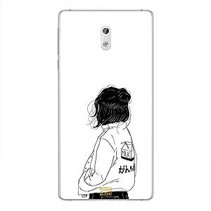 Nokia 3 Case Cover Girl Think Very Deep, Moreau Laurent Premium Phone Covers & Cases Design