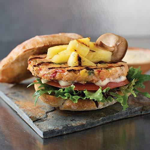 (Omaha Steaks 16 (3.8 oz.) Loaded Salmon Burgers)