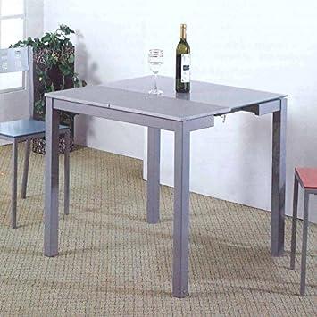 Mesa cocina extensible color gris: Amazon.es: Juguetes y juegos