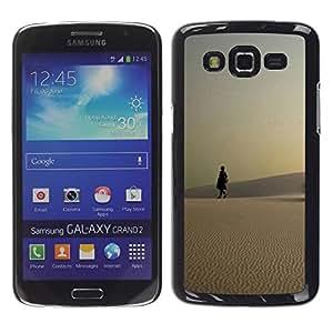 Be Good Phone Accessory // Dura Cáscara cubierta Protectora Caso Carcasa Funda de Protección para Samsung Galaxy Grand 2 SM-G7102 SM-G7105 // Nature Beautiful Forrest Green 123