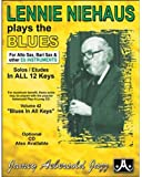 Lennie Niehaus Plays The Blues - Eb Edition (Book & CD Set)