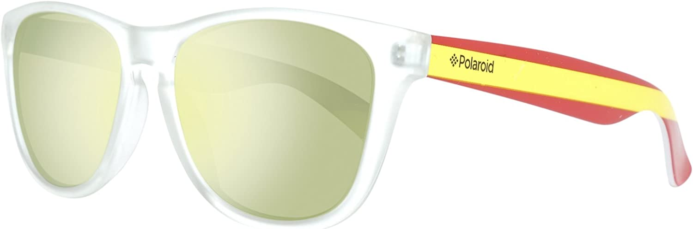 Polaroid Sonnenbrille 217896CX555LM Gafas de sol, Transparente (Transparent), 55 Unisex Adulto