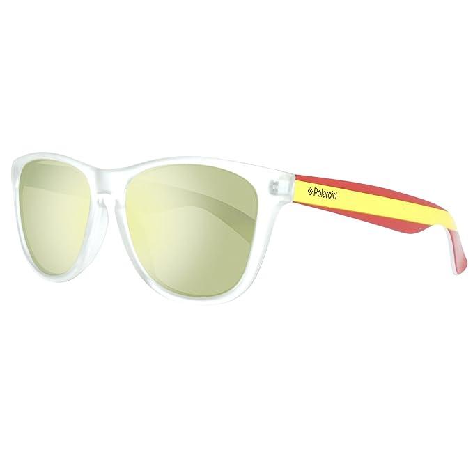 Polaroid Unisex adulto Sonnenbrille 217896CX555LM Gafas de sol, Transparente (Transparent), 55: Amazon.es: Ropa y accesorios