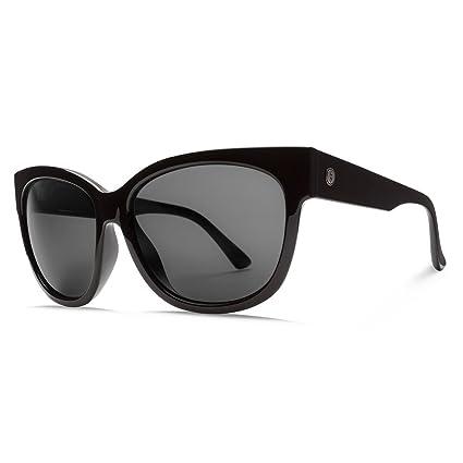 b15378fc92 Amazon.com  Electric Visual Danger Cat Gloss Black OHM Polarized Grey  Sunglasses  Sports   Outdoors