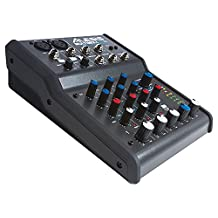 Alesis Multimix 4 USB FX | 4-Channel Mixer with Effects & USB Audio Interface