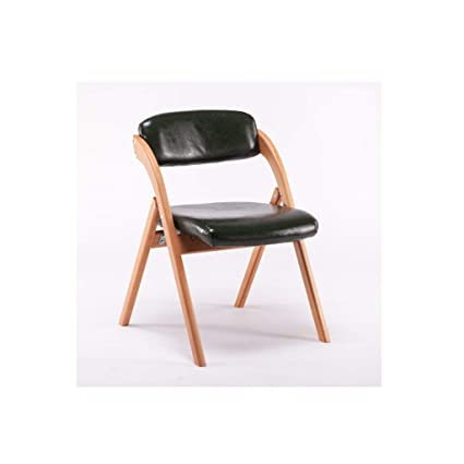YXLZZO Elm Dining Chair Home Restaurant Folding Back Chair