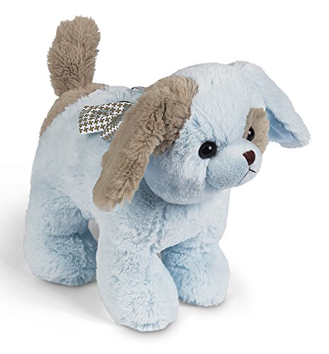 Puppy Bank - Bearington Waggles Blue Puppy Dog Piggy Bank with Noise 10