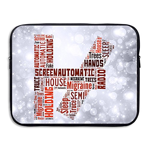 HYRONE Fashion 21 Letter Shell For Notebook 13 Inch