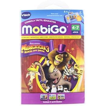 Vtech Juego MobiGo Madagascar 3 - En Espanol