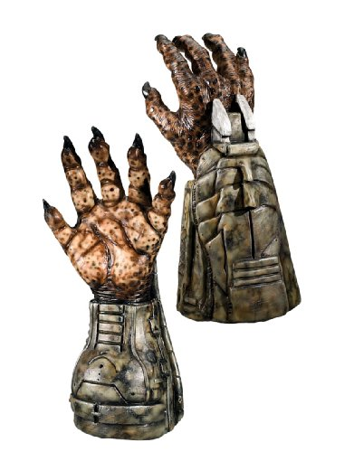 Aliens Vs Predator Costume with Requiem And Deluxe Predator Hands, Multi, One Size
