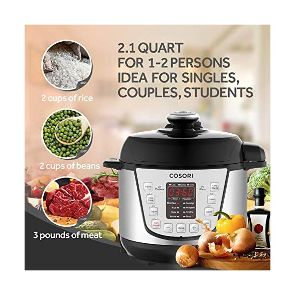 COSORI C3120-PC Pressure cooker, 2Quart 3