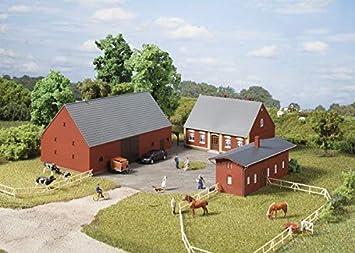 Auhagen 11439 granja en h0 Kit