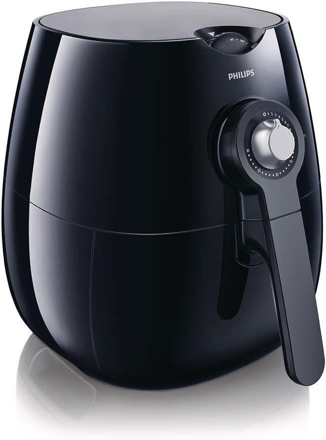 Amazon.com: Philips Kitchen Appliances HD9220 Air Fryer, Standard, Black: Deep Fryers: Kitchen & Dining