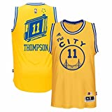 Klay Thompson Golden State Warriors Hardwood Classics Adidas Swingman Jersey (Medium)