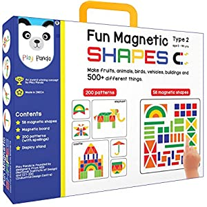 Fun Magnetic Shapes (Junior) :...