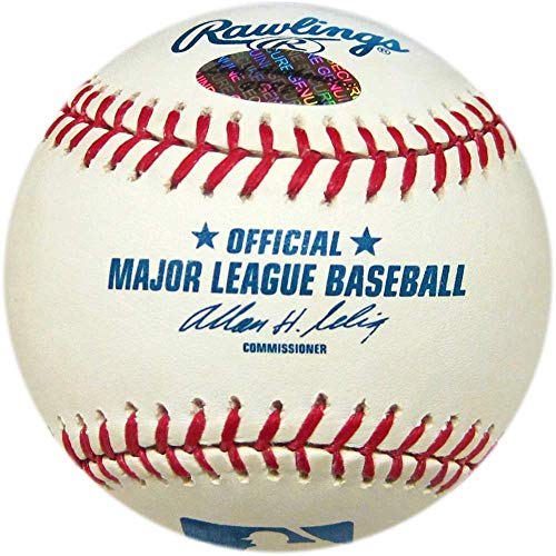 Orlando Hernandez Autographed Baseball