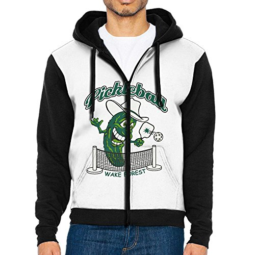 Prep Full Zip Hoodie (DE4K Pickleball Fashionable Men's Full-Zip Hoodie Baseball Jacket)