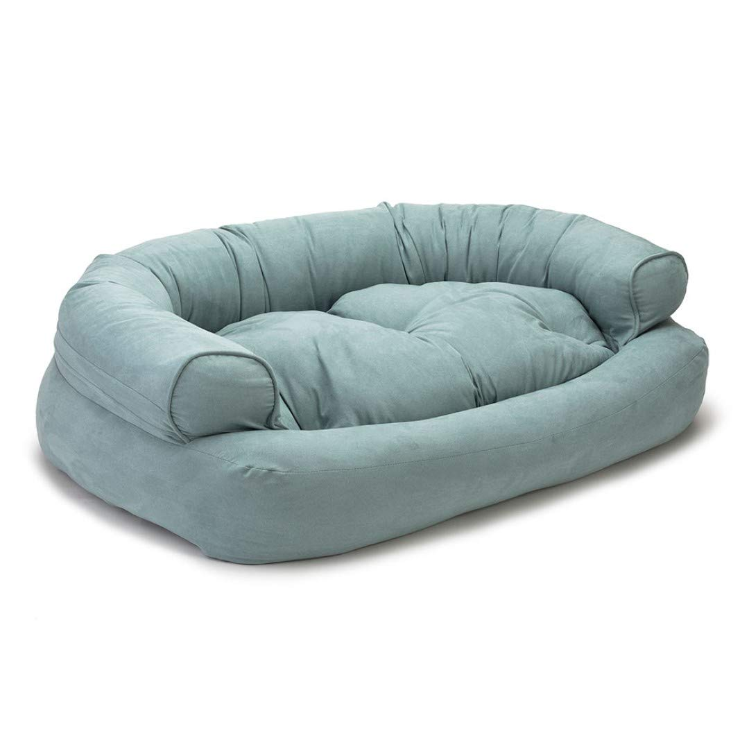 Snoozer Pet Products - Overstuffed Luxury Pet Sofa | Small - Aqua