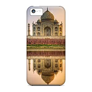 Tpu Shockproof/dirt-proof Taj Mahal Reflection Cover Case For Iphone(5c)
