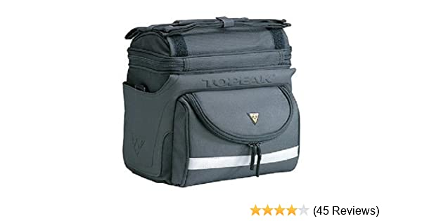 Bicycle//Bike Pack NEW Topeak TourGuide Handlebar Bag DX w QuickClip Fixer 8