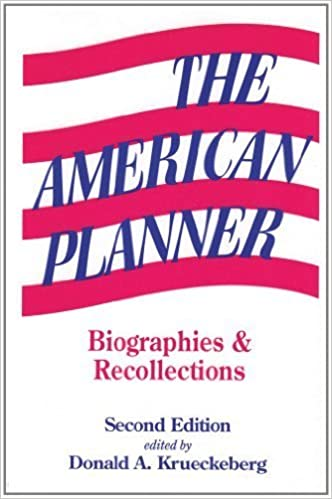 Book The American Planner: Biographies and Recollections (1994-12-31)